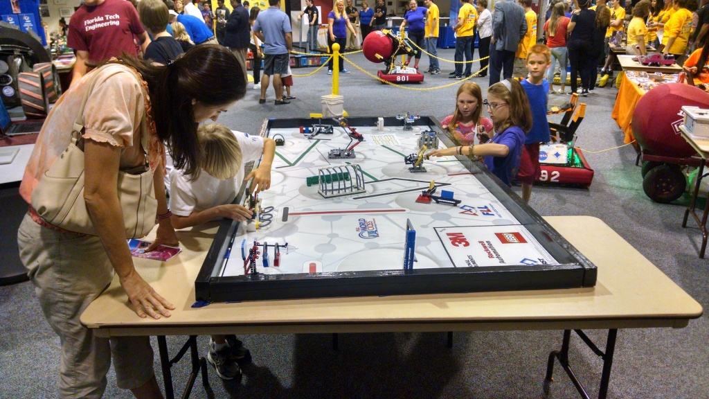 RS2014 FIRST Lego League Open Practice